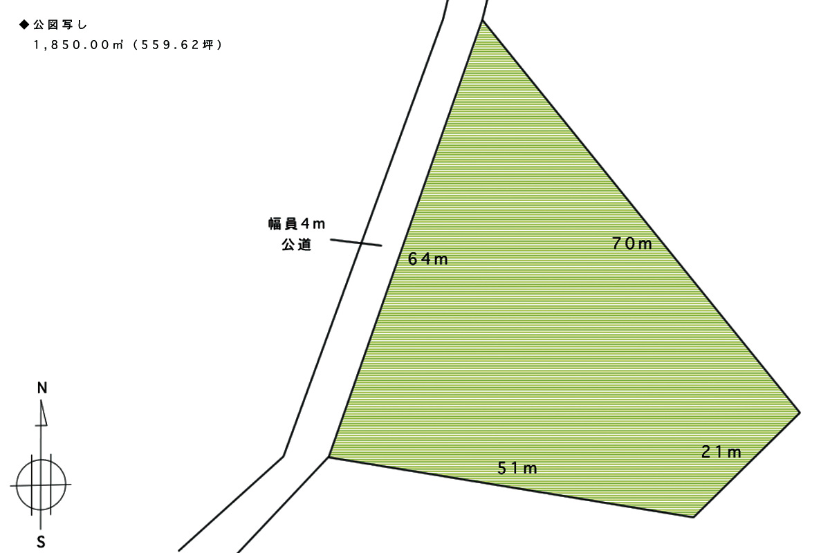 山中湖村/山林/土地1850㎡(559.62坪) – 富士五湖周辺の不動産 ...