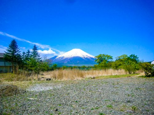 土地1282(387.80坪)/宅地/所有権/10Mの県道沿い・富士山全望
