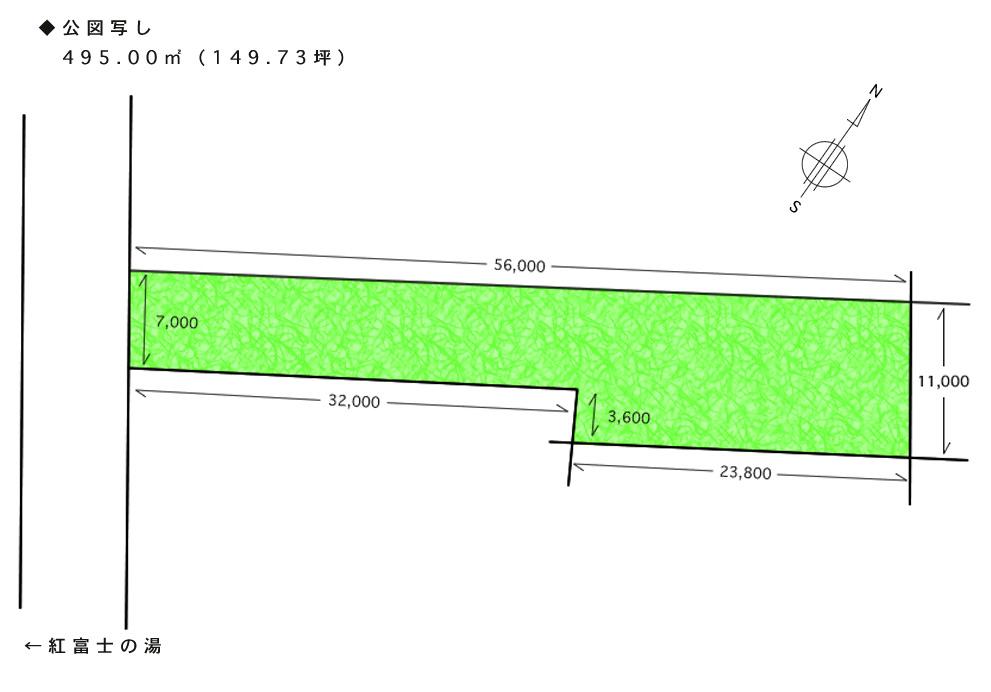 山中湖村/山林/土地495㎡(149坪) – 富士五湖周辺の不動産情報 ...