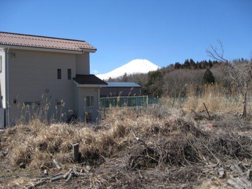山中湖村/石割の湯/土地496㎡(150.04坪)